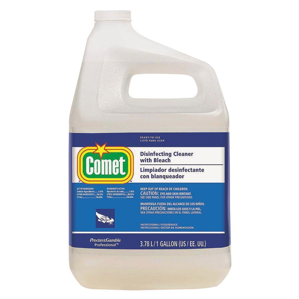 Comet 1 Gal Disinfecting Cleaner With Bleach Case Of 3