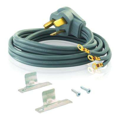4 ft. 3-Prong 30 Amp Dryer Cord