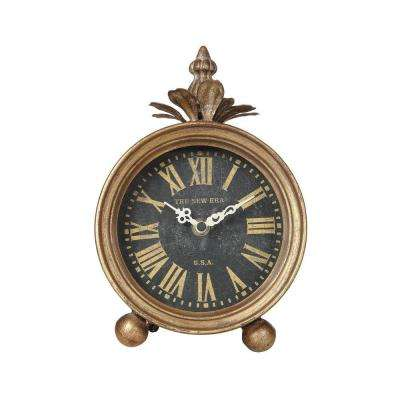 Jefferson Round Table Clock