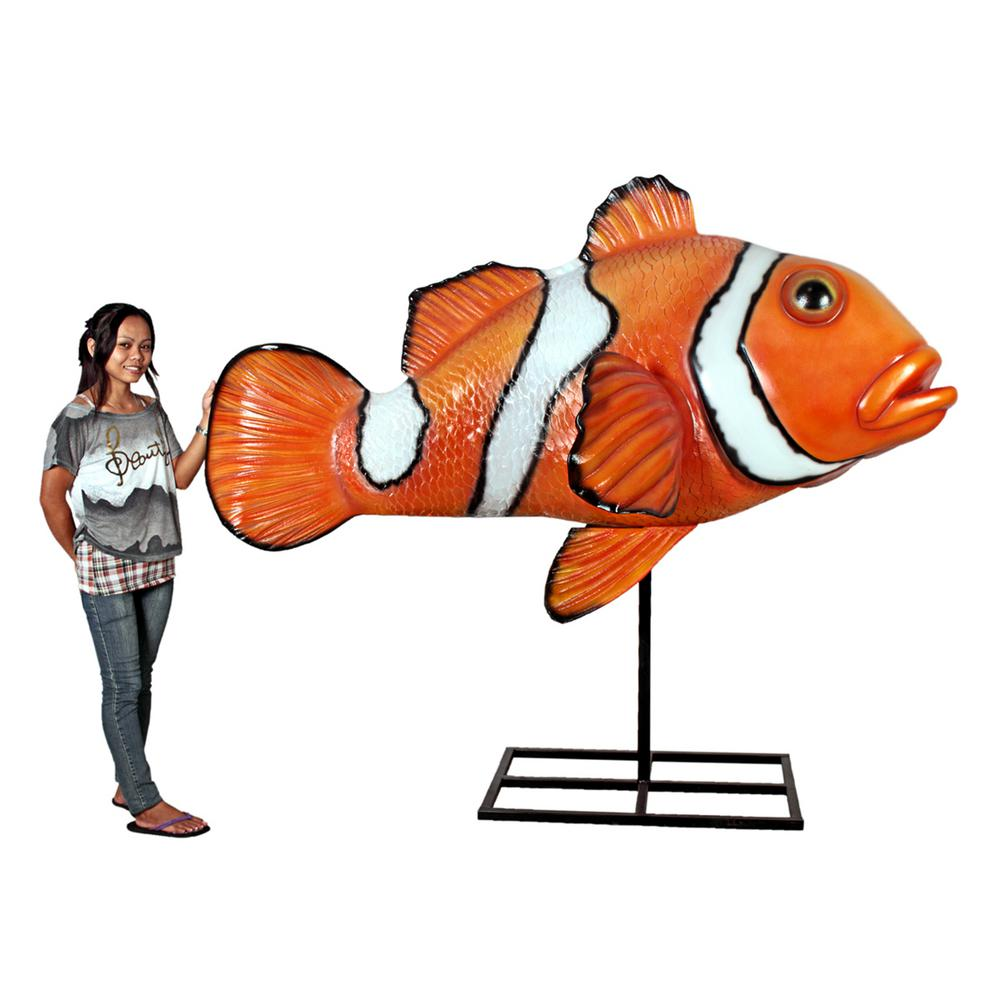 71.5 in. H Great Barrier Reef Oversized Clownfish Display Mount Trophy