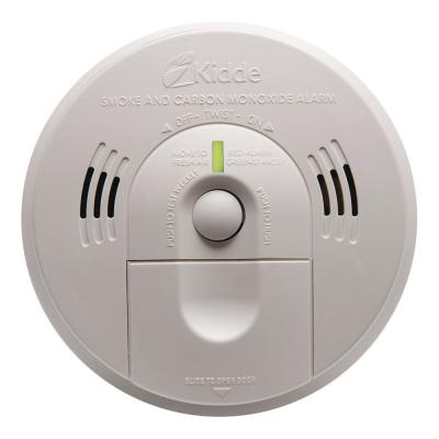 Code 1 Battery Operated Smoke and Carbon Monoxide Combination Detector