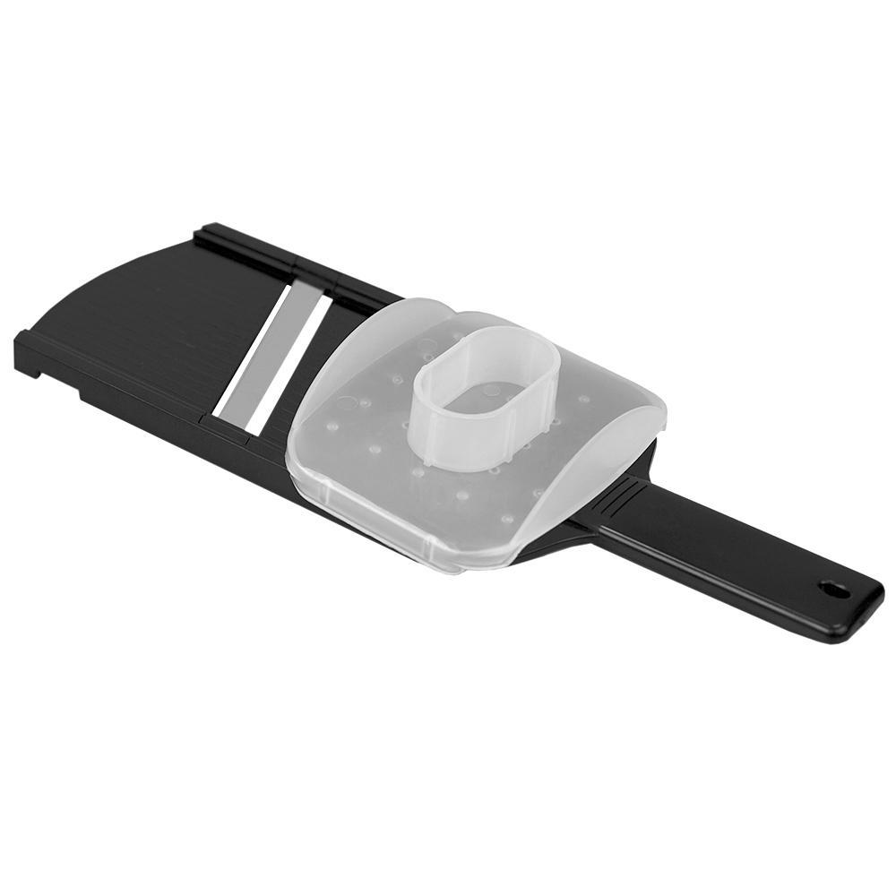 Plastic Mandolin Slicer with Handle, Black