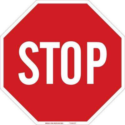 18 in. H x 18 in. W Traffic Sign Stop