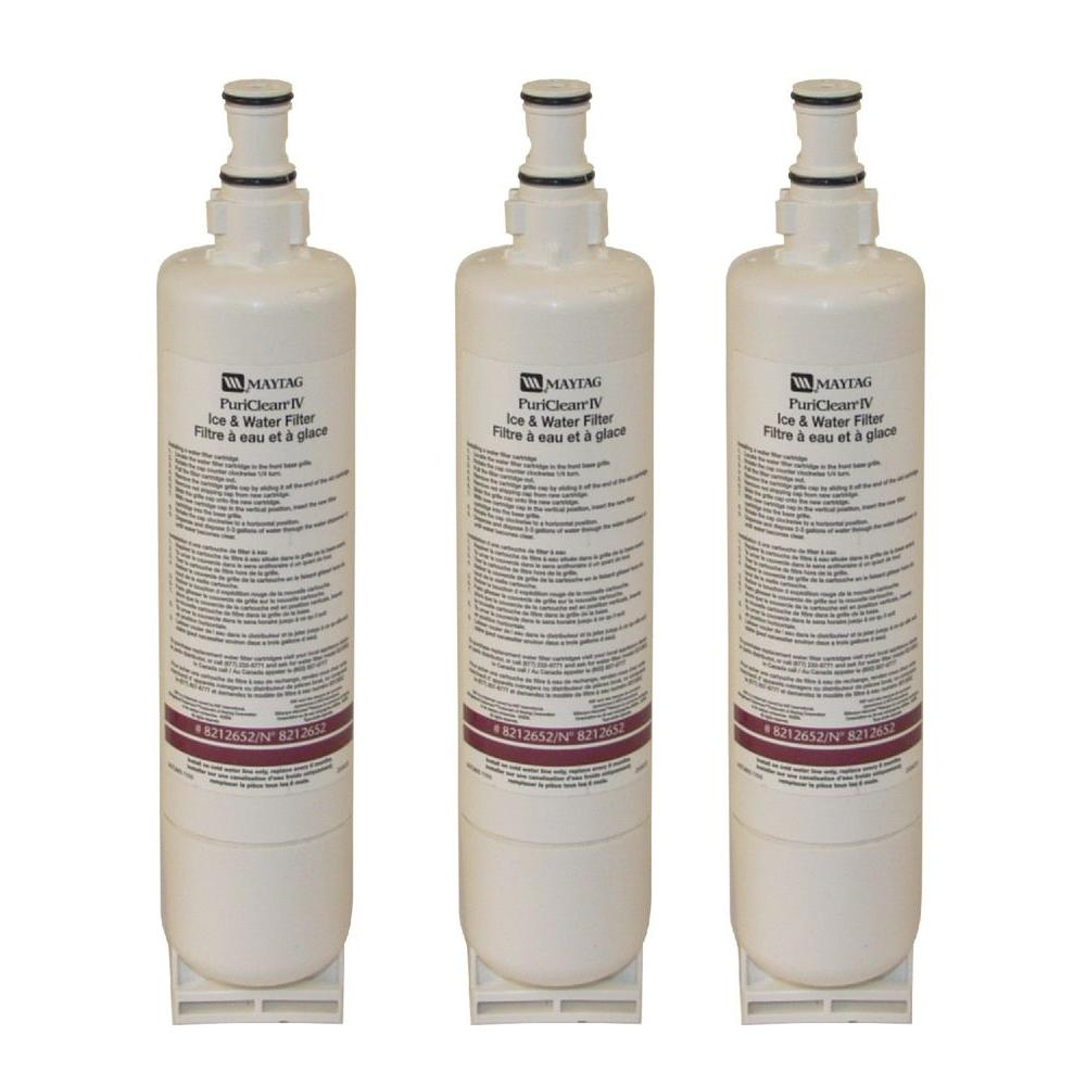 Maytag 8212652 PuriClear IV Refrigerator Water Filter (3-Pack)