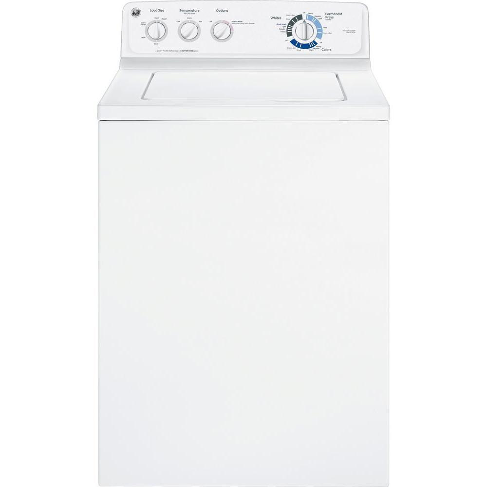 GE 3.6 cu. ft. Top Load Washer in White