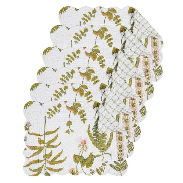 C & F Home Anessa Green Placemat (Set of 6) 862621807S6