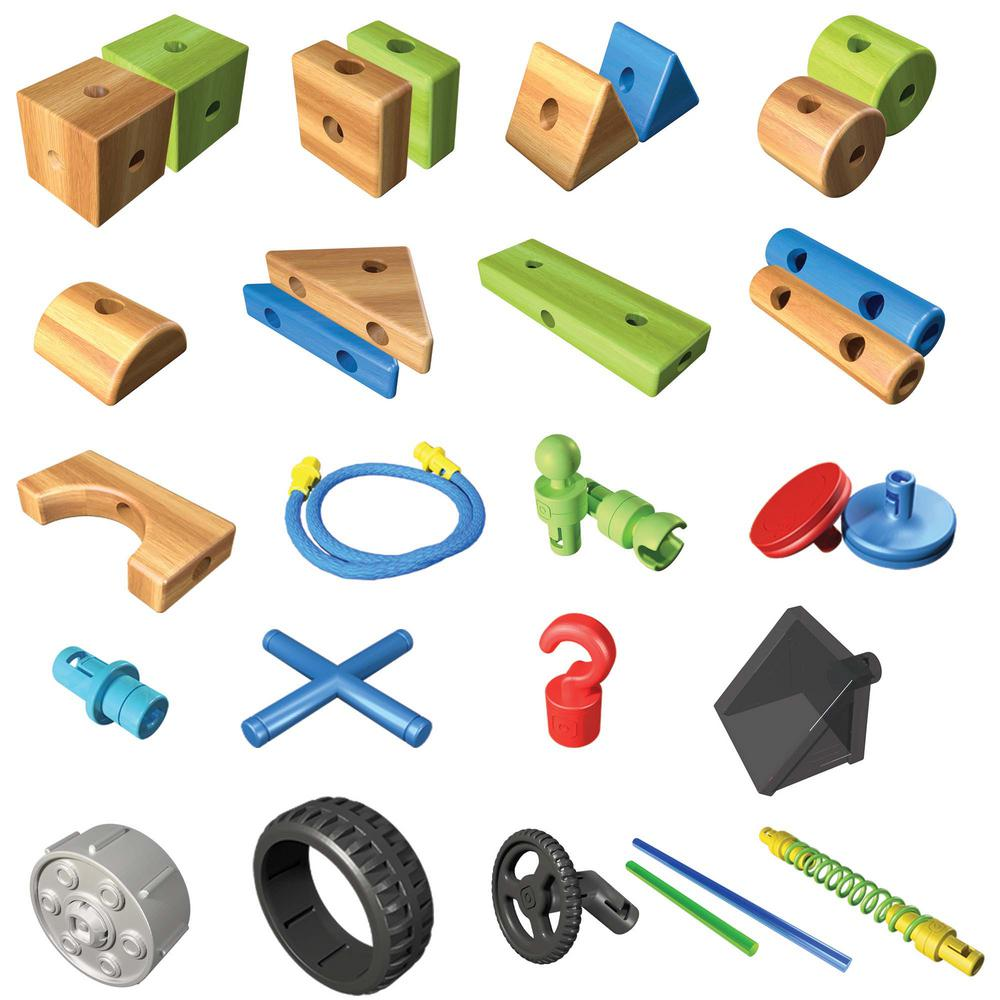Smarty Parts Toy Engineer Set (125-Pieces)-BLIP39329 - The Home Depot