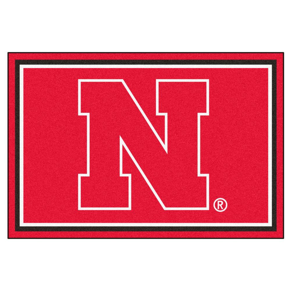 University of Nebraska 5 ft. x 8 ft. Area Rug