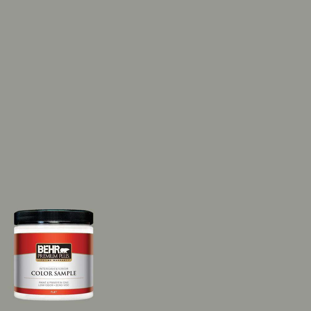 8 oz. #ECC-36-1 Shady Willow Interior/Exterior Paint Sample
