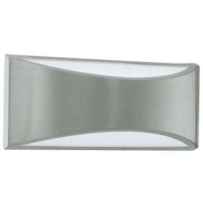 Volpino 2-Light Brushed Nickel Integrated LED Wall Light