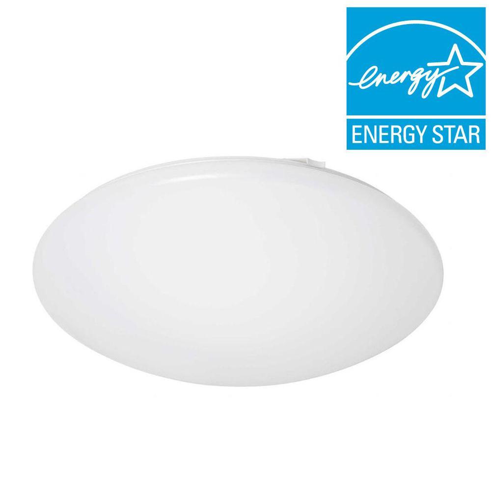 Eti 12 in. Round LED Flush Mount Cool White