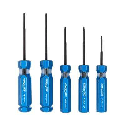 Torx Precision Screwdriver Set (5-Piece)