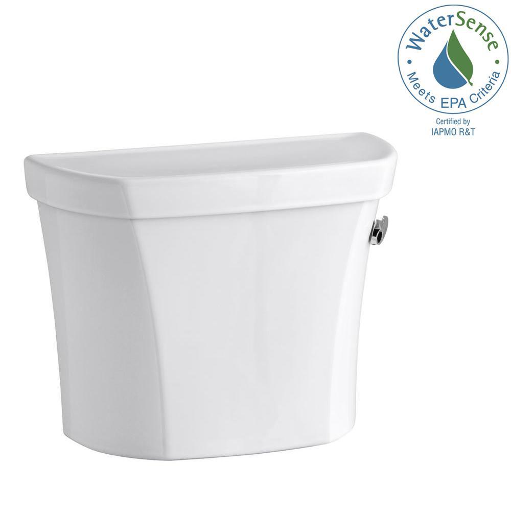 KOHLER Wellworth 1.6 GPF Single Flush Toilet Tank Only in White