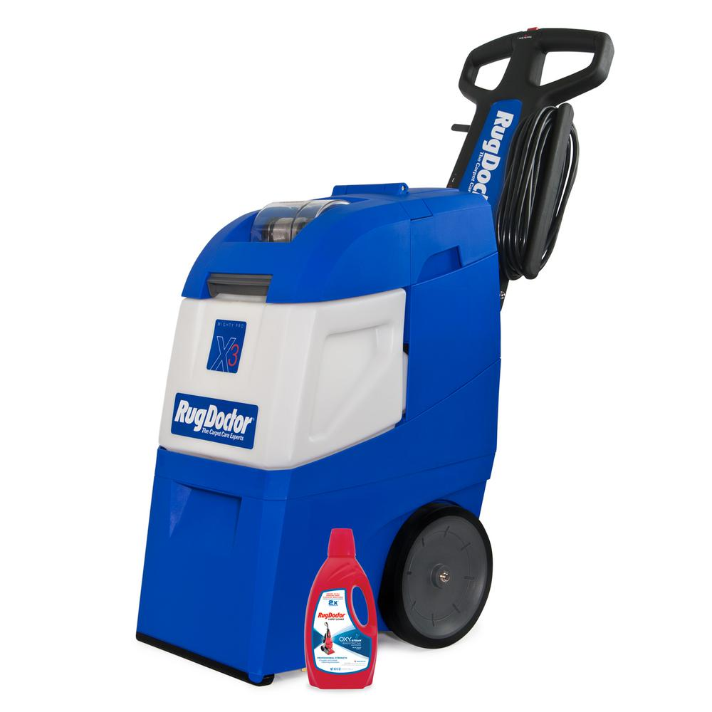 Rug Doctor Mighty Pro X3 Value Pack Upright Carpet Cleaner 95503