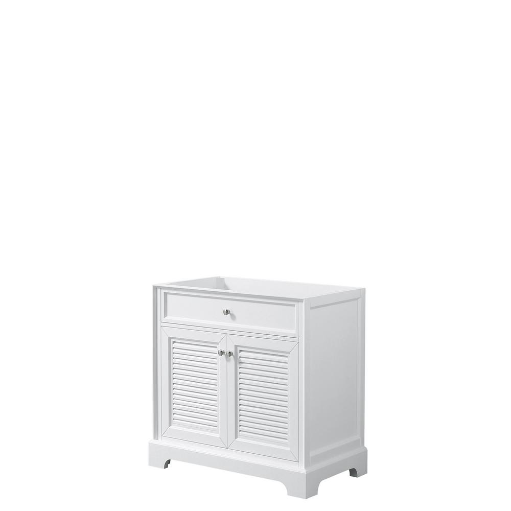 Tamara 30.5 in. Single Bathroom Vanity Cabinet Only in White