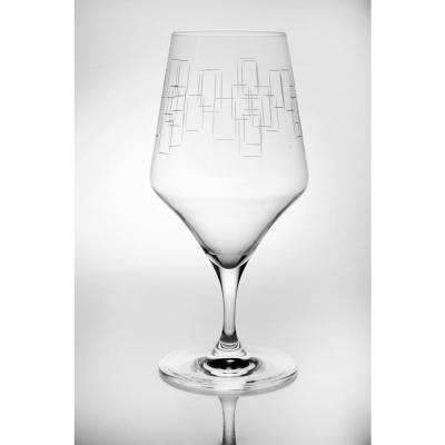 Mid-Century Modern 14.5 oz. Clear Cocktail (Set of 4)