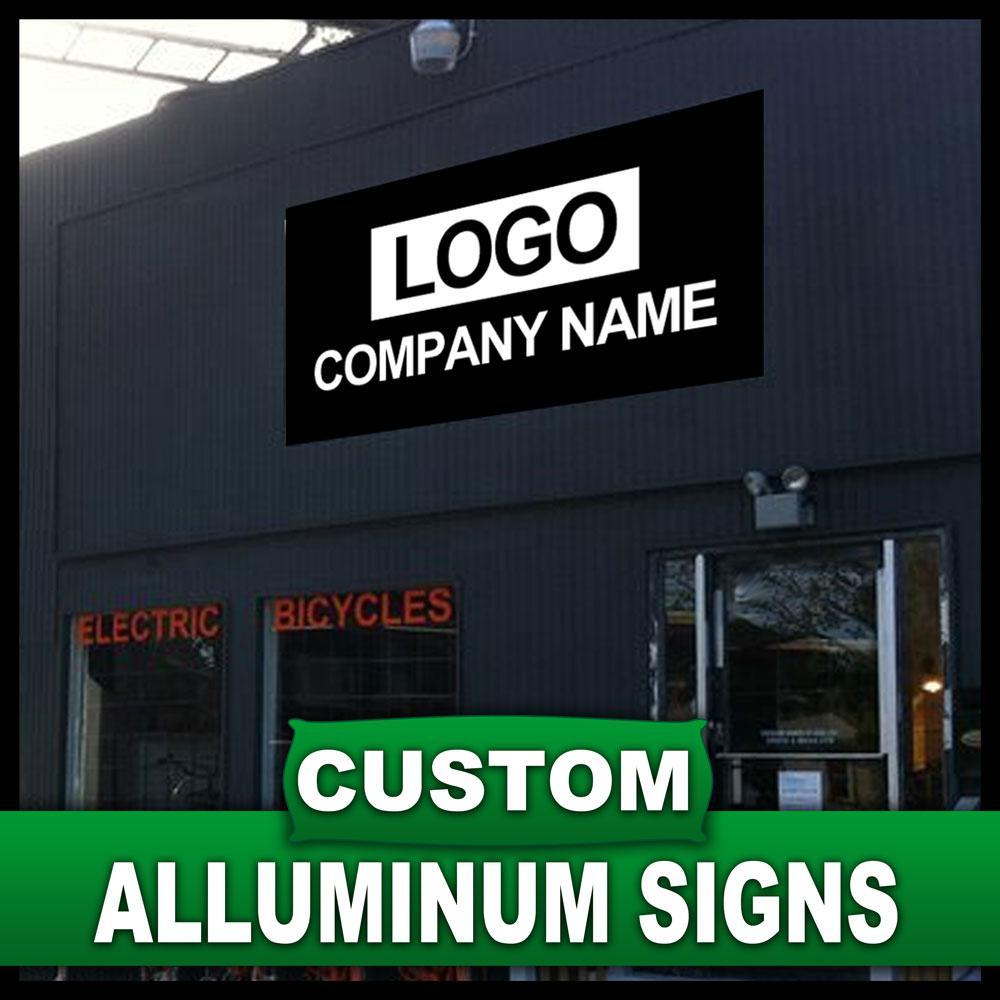 24 in. x 36 in. Custom Aluminum Sign