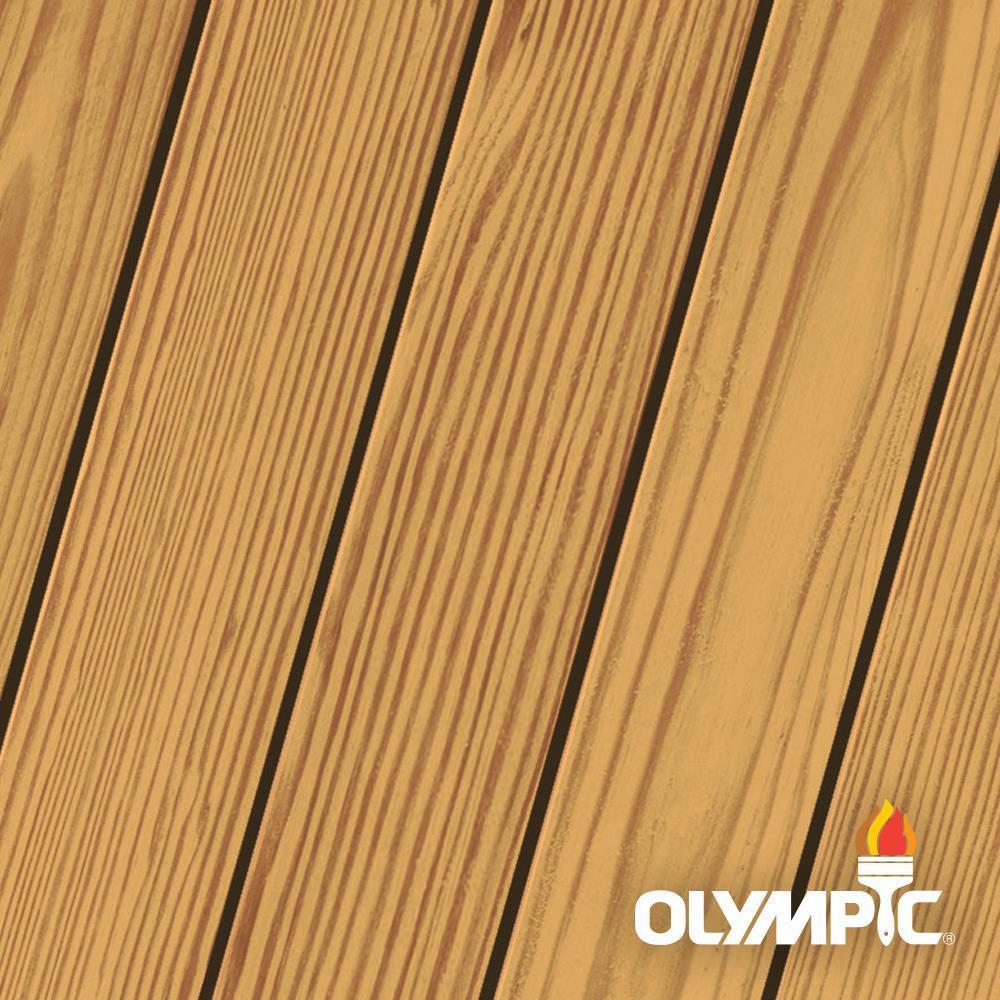 Olympic Elite 3-gal. EST716 Cedar Naturaltone Semi-Transparent Exterior Stain and Sealant in One Low VOC