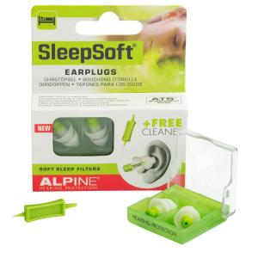 Alpine SleepSoft ThermoShape Earplugs Hearing Protection by Alpine