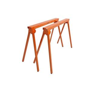 PORTAMATE 36 inch Folding Metal Sawhorse (Pair) by PORTAMATE