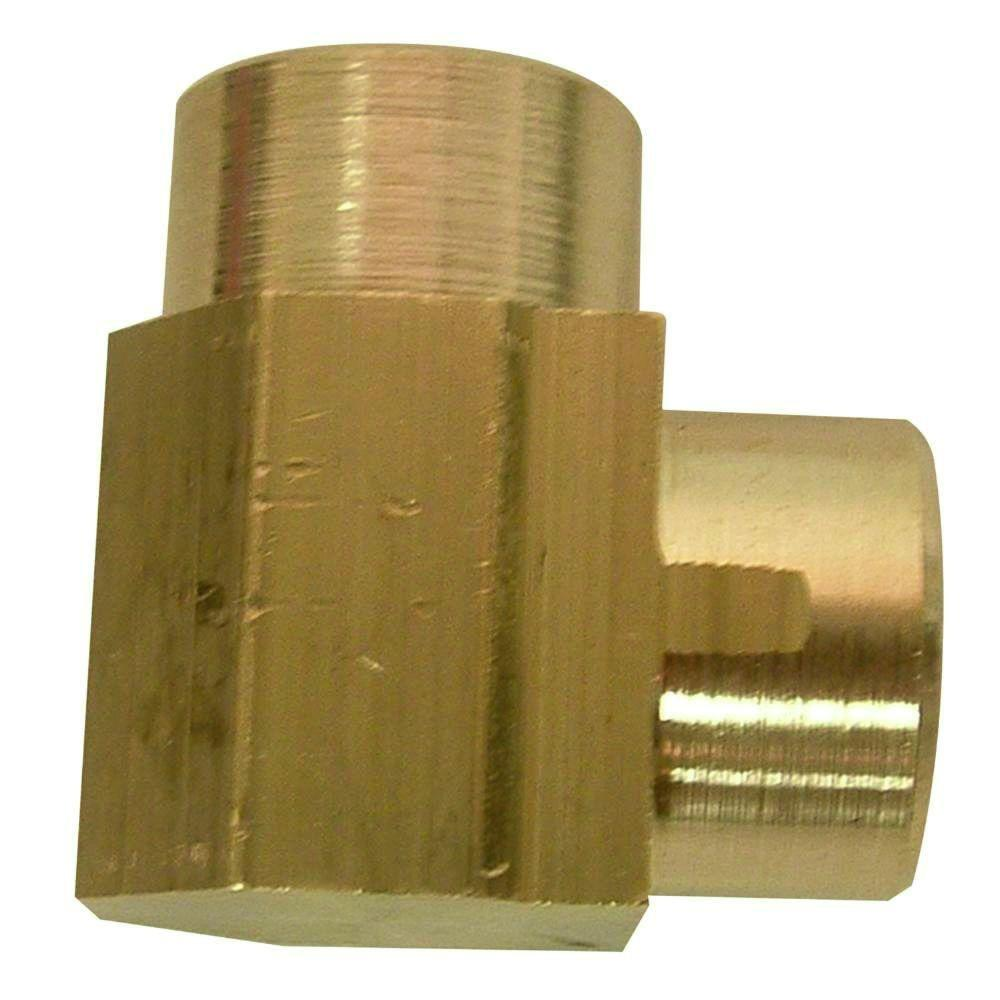 1/2 in. Lead-Free Cast Red Brass 90-Degree FIP Elbow
