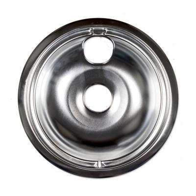 8 in. Chrome Drip Bowl for GE Electric Ranges