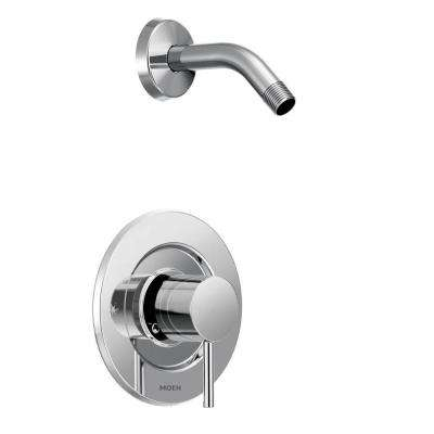 Align Single-Handle Posi-Temp Shower Faucet Trim Kit in Chrome (Showerhead and Valve Not Included)