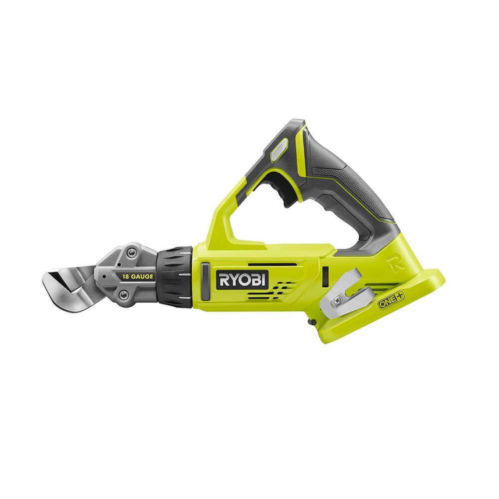RYOBI 18-Volt ONE+ 18-Gauge Offset Shear (Tool Only)