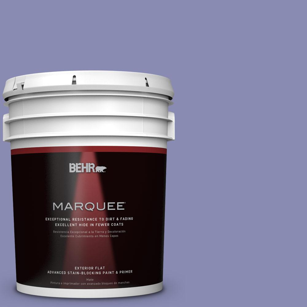 5-gal. #M550-5 Violet Aura Flat Exterior Paint