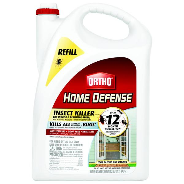 Ortho Home Defense Insect Killer for Indoor & Perimeter Refill 2