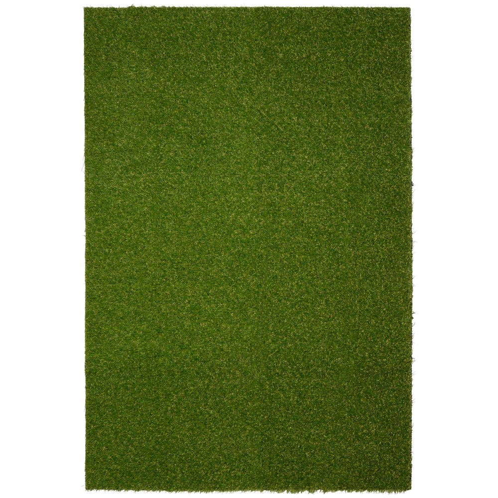 Garland Rug Artificial Grass Turf 6 ft. x 8 ft. Indoor /Outdoor Area Rug