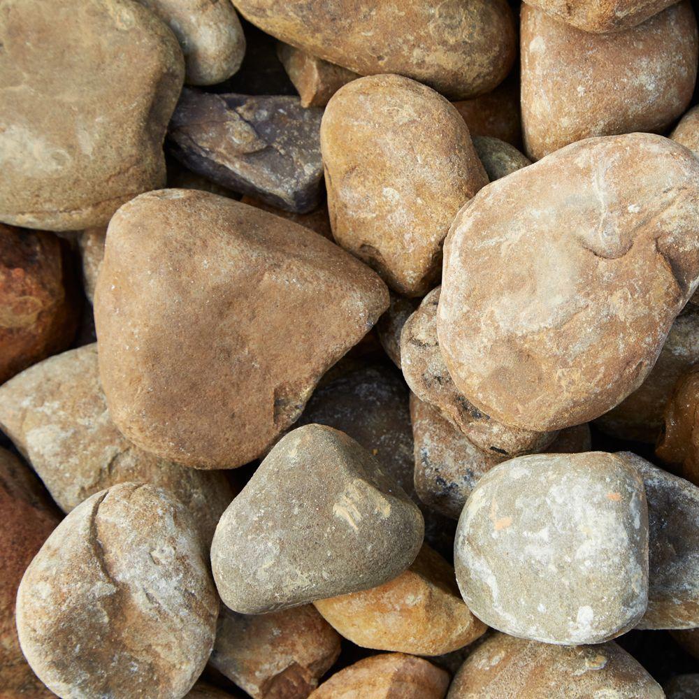 0.5 cu. ft. Creek Stone (64 Bags / 32 cu. ft. / Pallet)