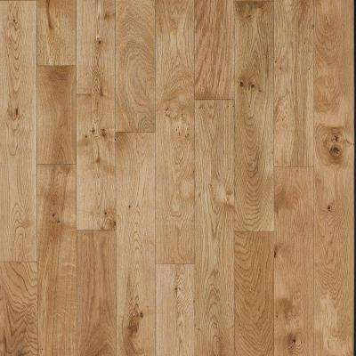 French Oak Nougat 5/8 in. Thick x 4-3/4 in. Wide x Varying Length Click Solid Hardwood Flooring (15.5 sq. ft. / case)