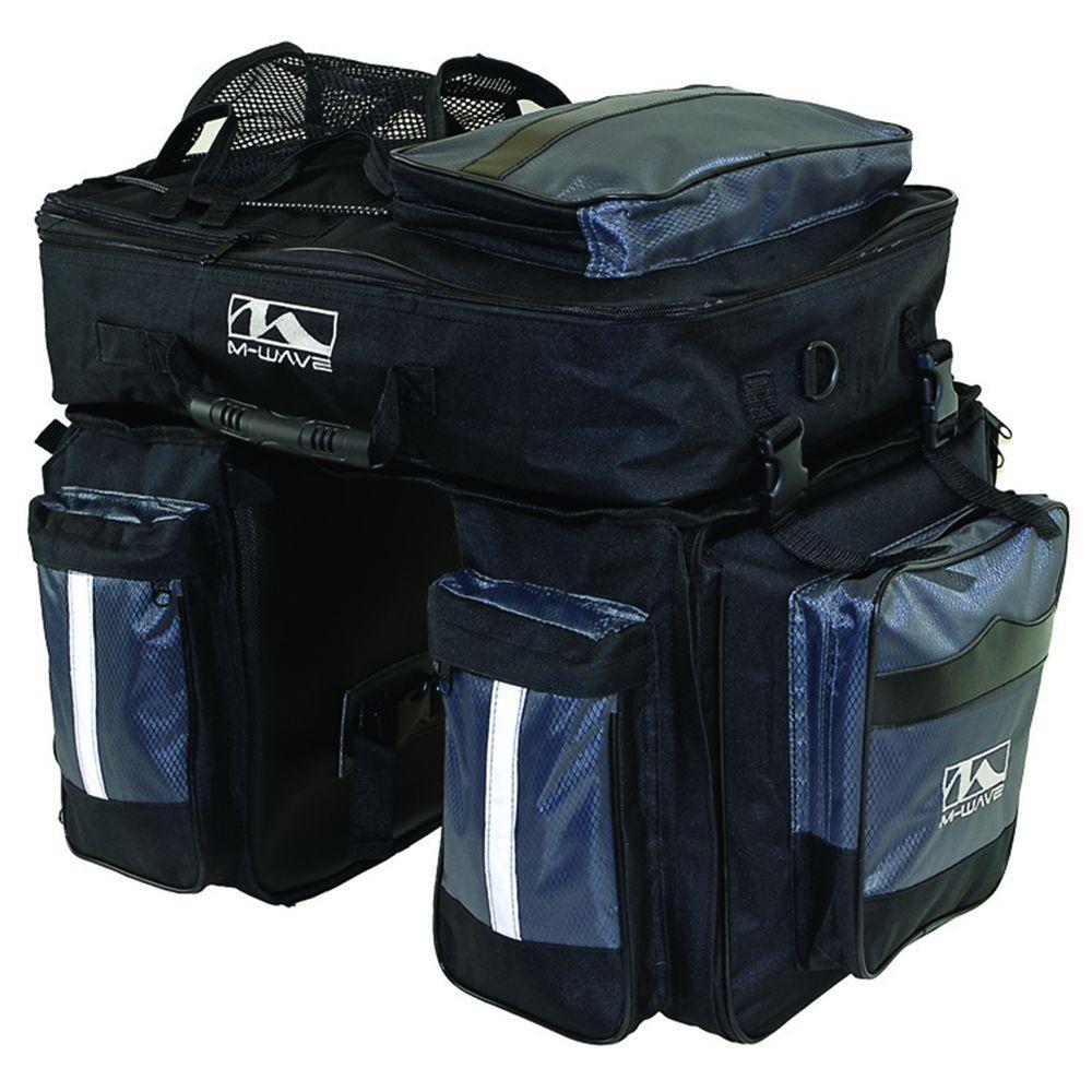 Amsterdam Triple Pannier Bag