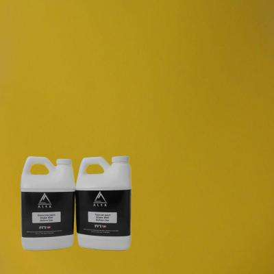 1-gal. Yellow Paint Wrap Kit Removable Paint