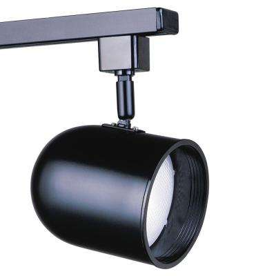 PAR 30 Black Round Track Lighting Fixture