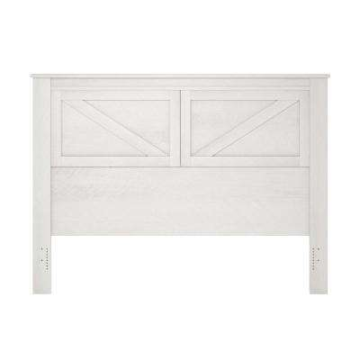 Brownwood Ivory Oak Queen Headboard