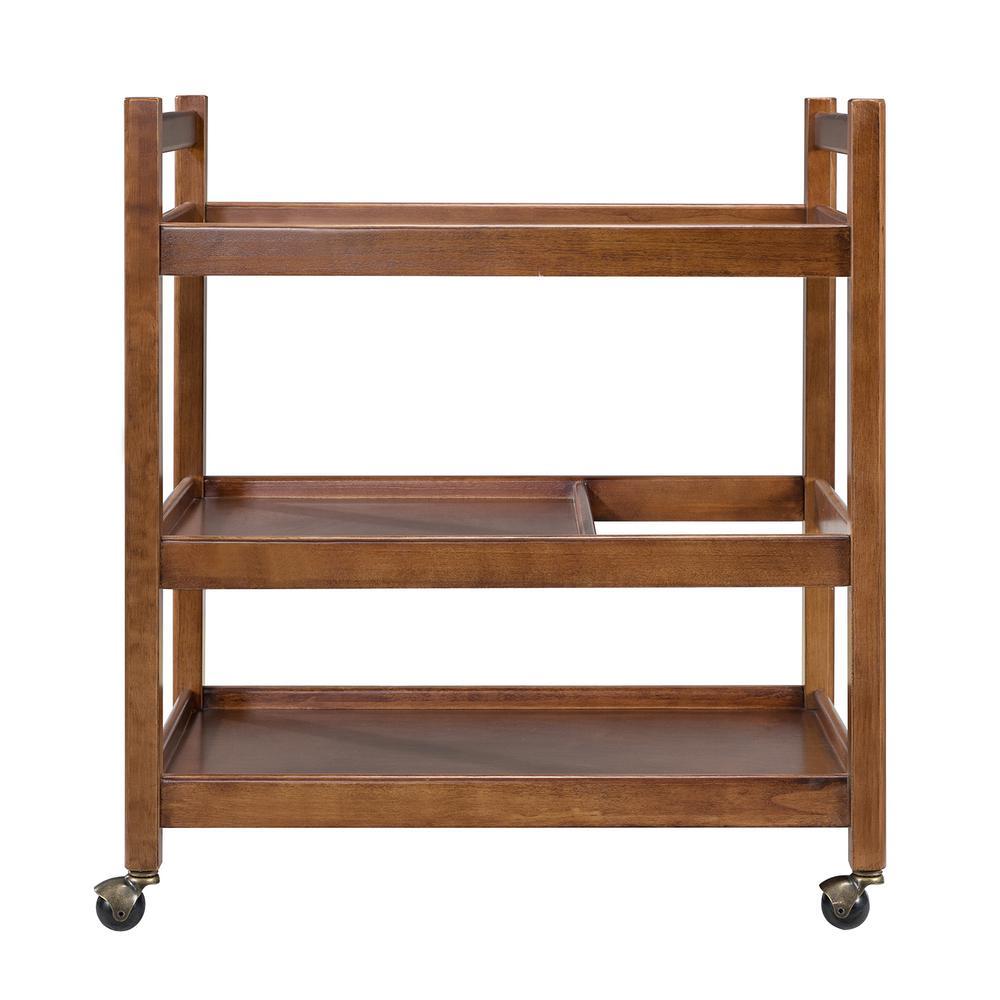 Southern Enterprises Davida Midcentury Modern Bar Cart HD523859