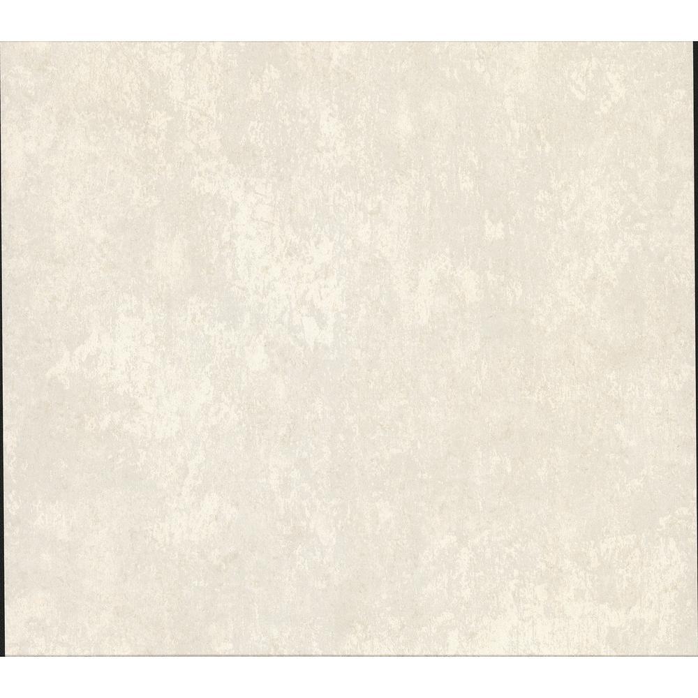 Mansour Off-white Plaster Texture Vinyl Peelable Wallpaper (Covers 57.8 sq. ft.)