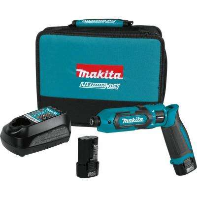 7.2-Volt Lithium-Ion Cordless 1/4 in. Hex Impact Driver Kit