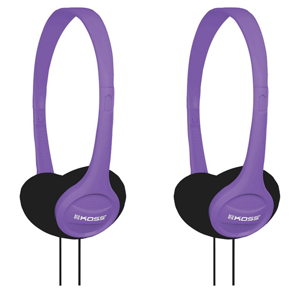 KPH7 On-Ear Headphones in Violet (2-Pack)