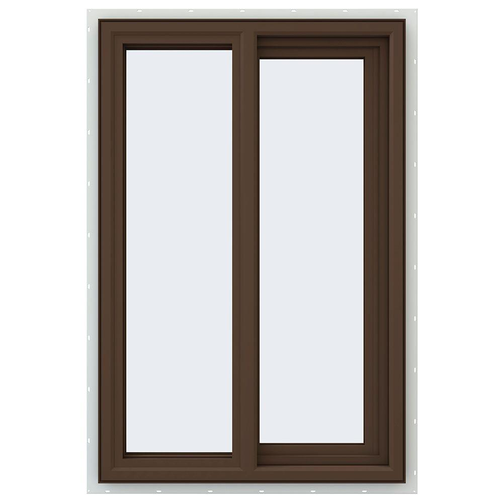 Jeld wen 23 5 in x 35 5 in v 4500 series right hand for Window brands