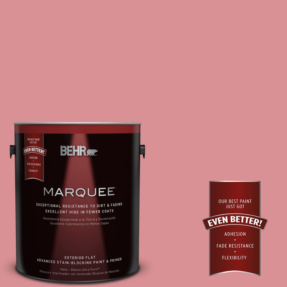BEHR MARQUEE Home Decorators Collection 1-gal. #HDC-CT-11 La Vie En Rose Flat Exterior Paint