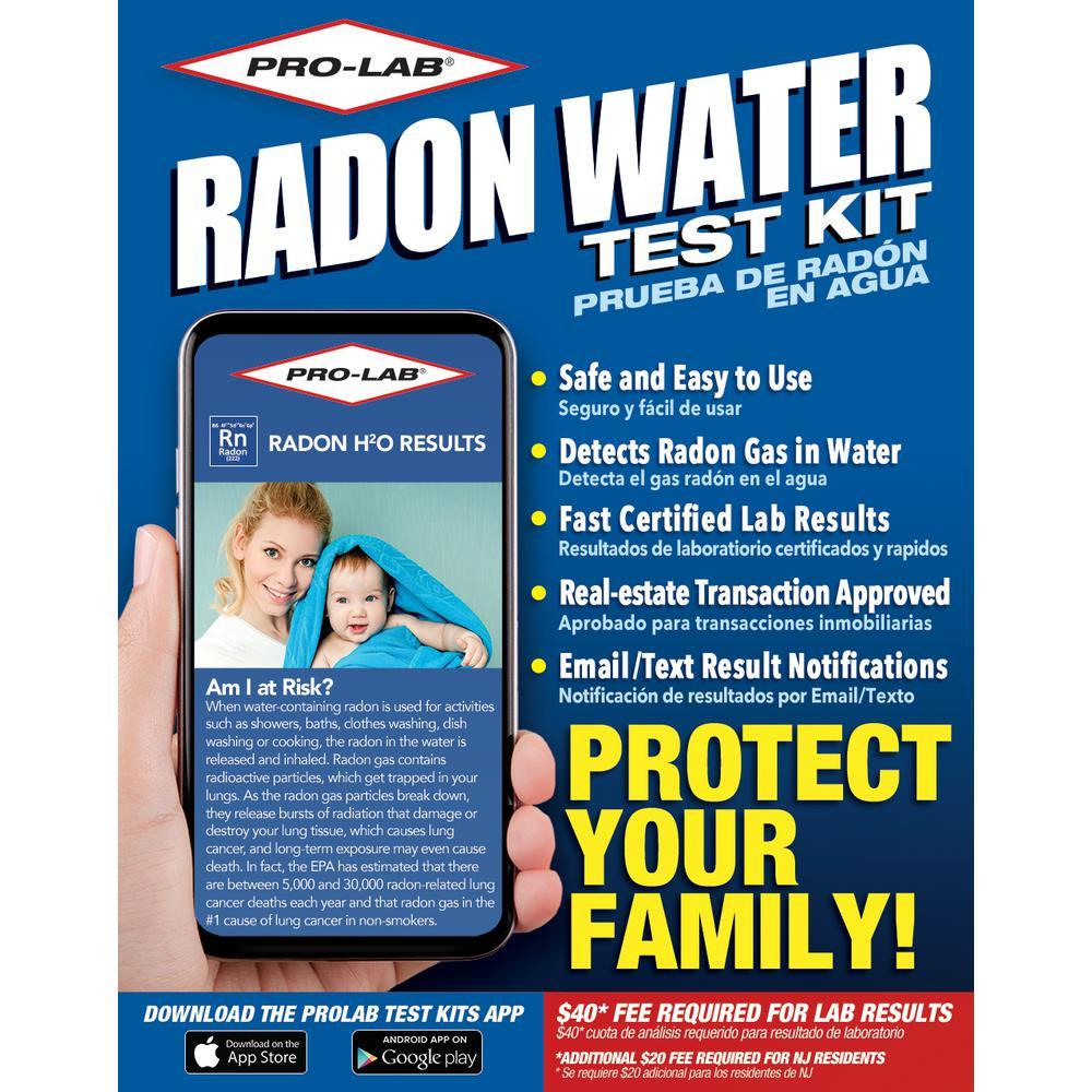 Radon in Water Test Kit