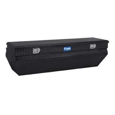 62 in. Aluminum Black Chest Box with Wedge Notched