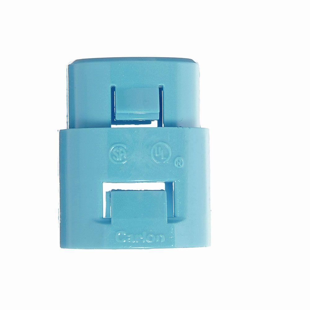 null 3/4 in. PVC ENT 1-Piece Snap-In Adapter