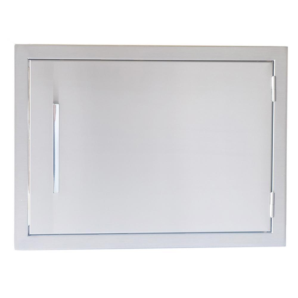 Signature Series 17 in. x 24 in. 304 Stainless Steel Horizontal Access Door
