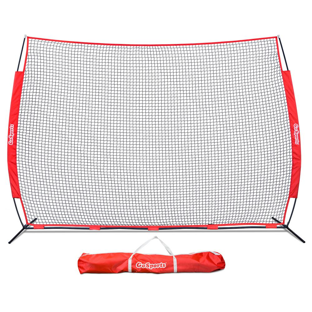 Portable 12 ft. x 9 ft. Sports Barrier Net with Carry
