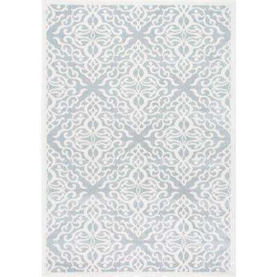 Contessa Silver 10 ft. x 14 ft. Area Rug