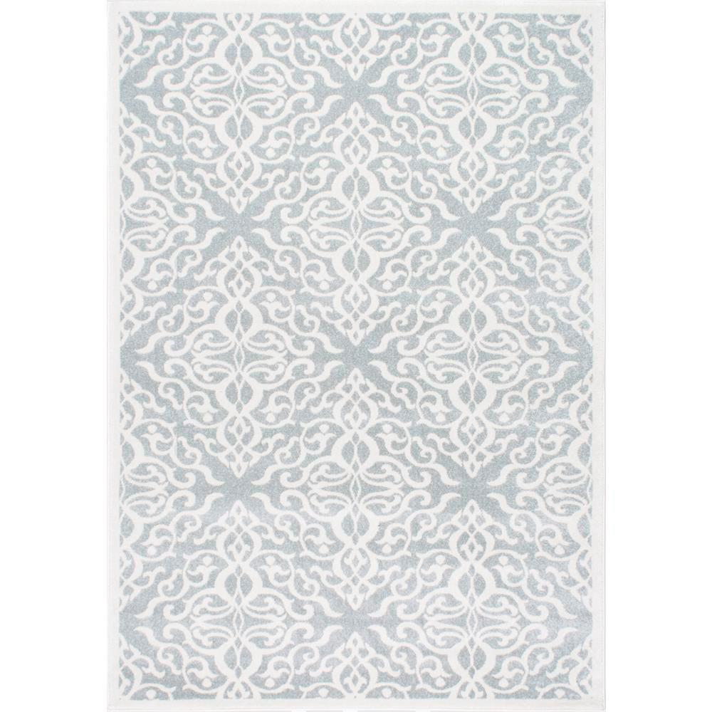 nuLOOM Contessa Silver 9 ft. x 12 ft. Area Rug